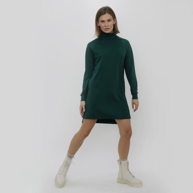 Платье LoV.concept с рукавом реглан, зеленое