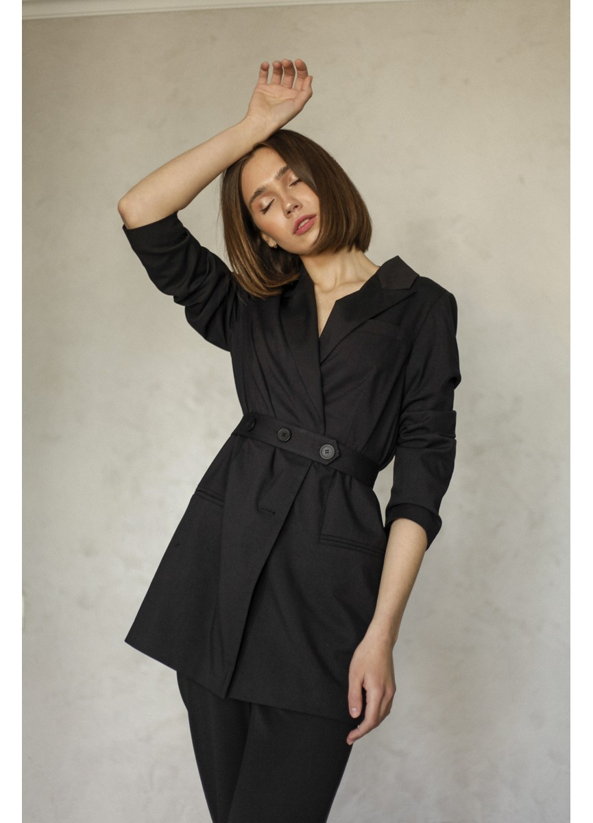 Пиджак в мужском стиле LoV.concept, черный