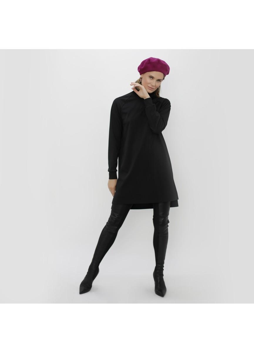 Платье LoV.concept с рукавом реглан, черное